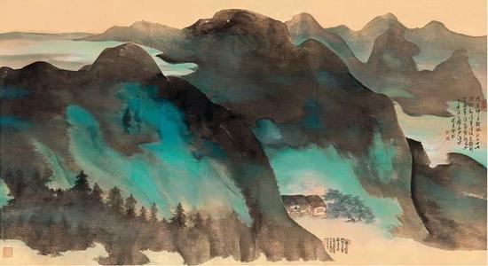 Lot808 陈佩秋(1923~ ) 花影书声图 起拍价RMB-200万 成交价RMB- 322万元