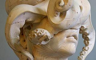 融化的木雕