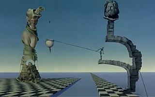 毁童年!达利和迪士尼合作了部动画短片