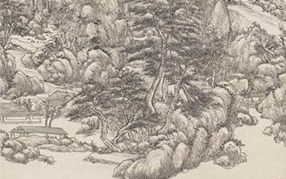 上博藏王原祁题画手稿真迹首次原大彩印公布
