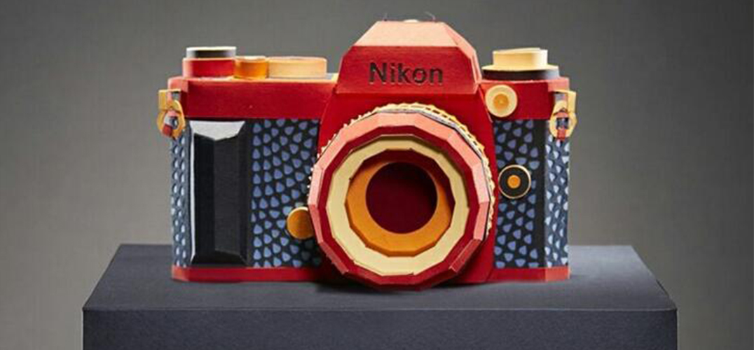 用纸模型还原的9款复古相机
