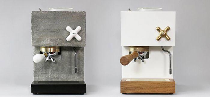 自制咖啡机 体现精简美学