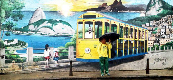 除了火热的桑巴 巴西还有美爆了的街头涂鸦