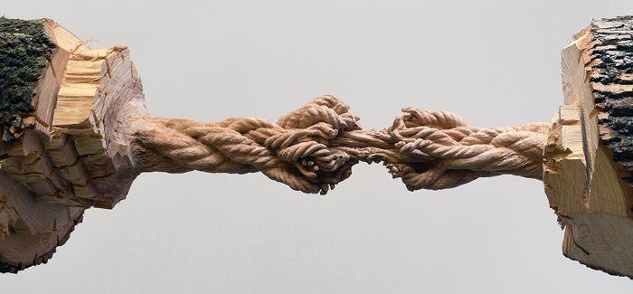 木头也能做绳子?