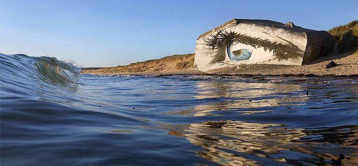 望向大海的明眸!