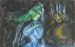 3幅马克•夏加尔杰作惊艳亮相哥伦布艺术博物馆