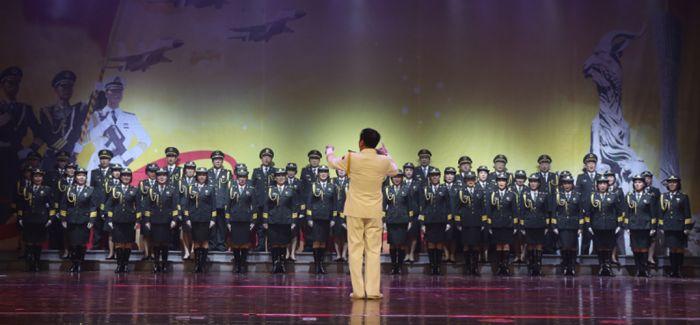 三省合演 纪念中国人民解放军建军90周年