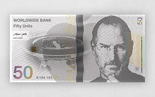 """这些""""货币""""上有你的偶像吗?"""