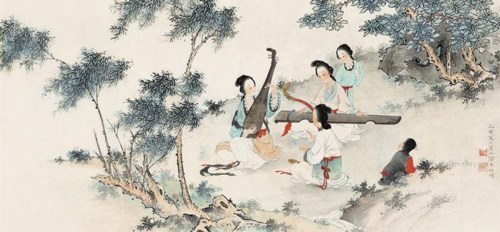 竹林深处闺蜜情:古代女性的园林生活
