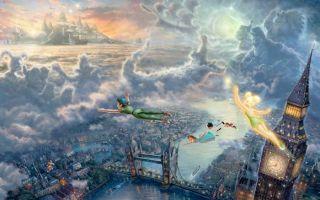 这是手绘?迷幻的迪士尼天堂