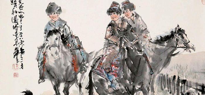 行于塞上!第一位踏上蒙古草原采风的汉族画家是谁