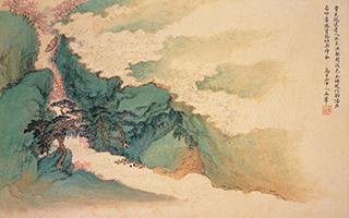 静谧雪峰:王翚的《仿李成雪霁图》