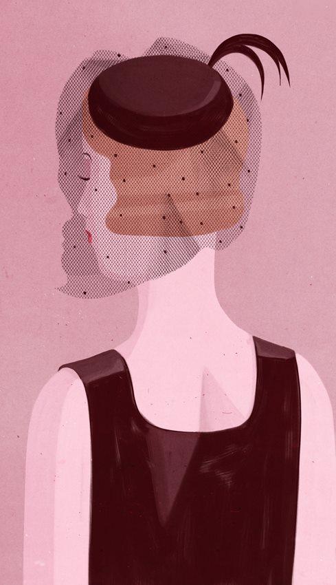 一组荒诞而真实的插画,激起你心中的阴暗面-爱新鲜