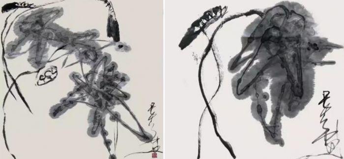 唐双宁先生画作欣赏:莲之声圆舞曲