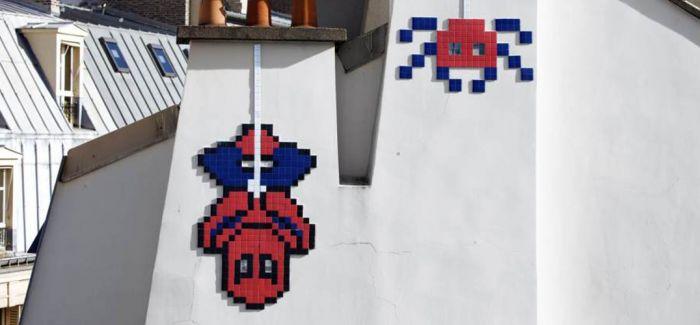 """著名街头艺术家的马赛克作品被""""市政工人""""偷走"""