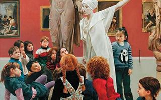 """美术馆 博物馆:孩子们的""""第二课堂"""""""