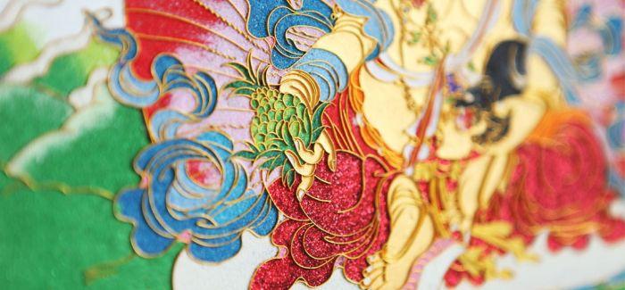 月光唐卡 | 非遗手工艺 独具魅力的掐丝彩绘