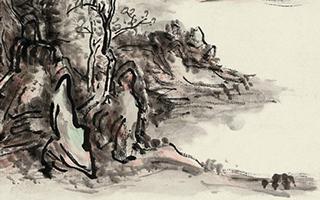 黄宾虹《浈阳峡》:走进了深刻的真实