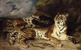 """一位浪漫主义艺术家与野兽的""""浪漫"""""""
