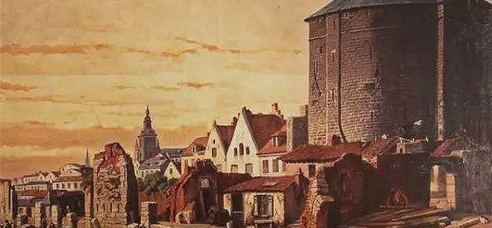 布鲁塞尔老城墙:在夹缝中的倔强生存