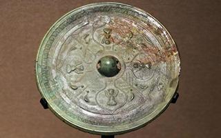 一枚罕见的铜镜