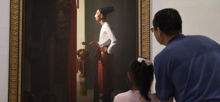 中国美术馆为青年艺术家办收藏展