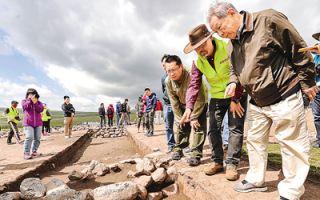3600年前的原始聚落现身新疆