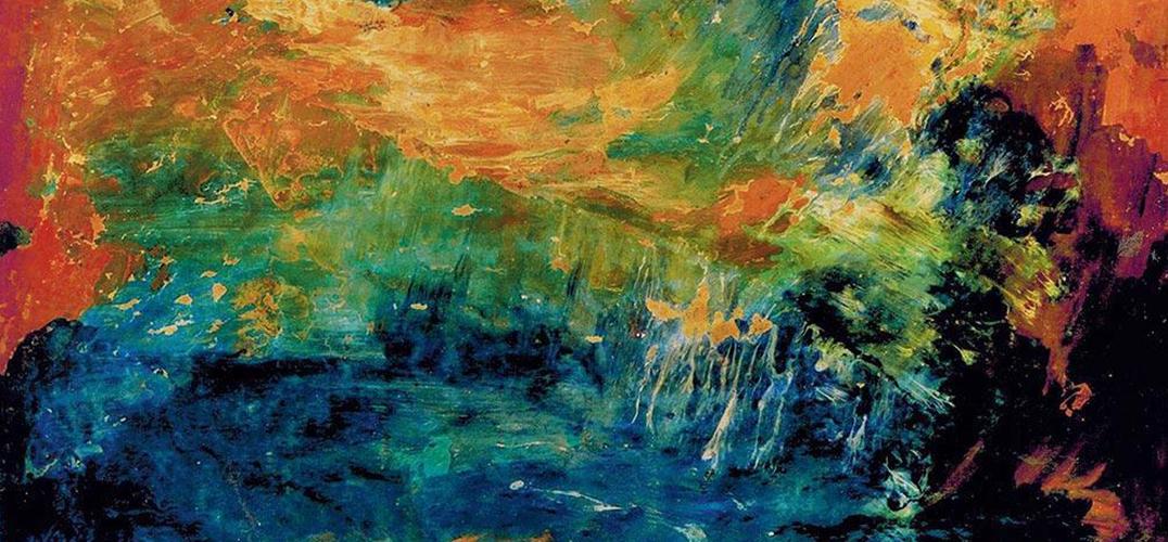 抽象艺术家李青萍手稿捐赠中华艺术宫