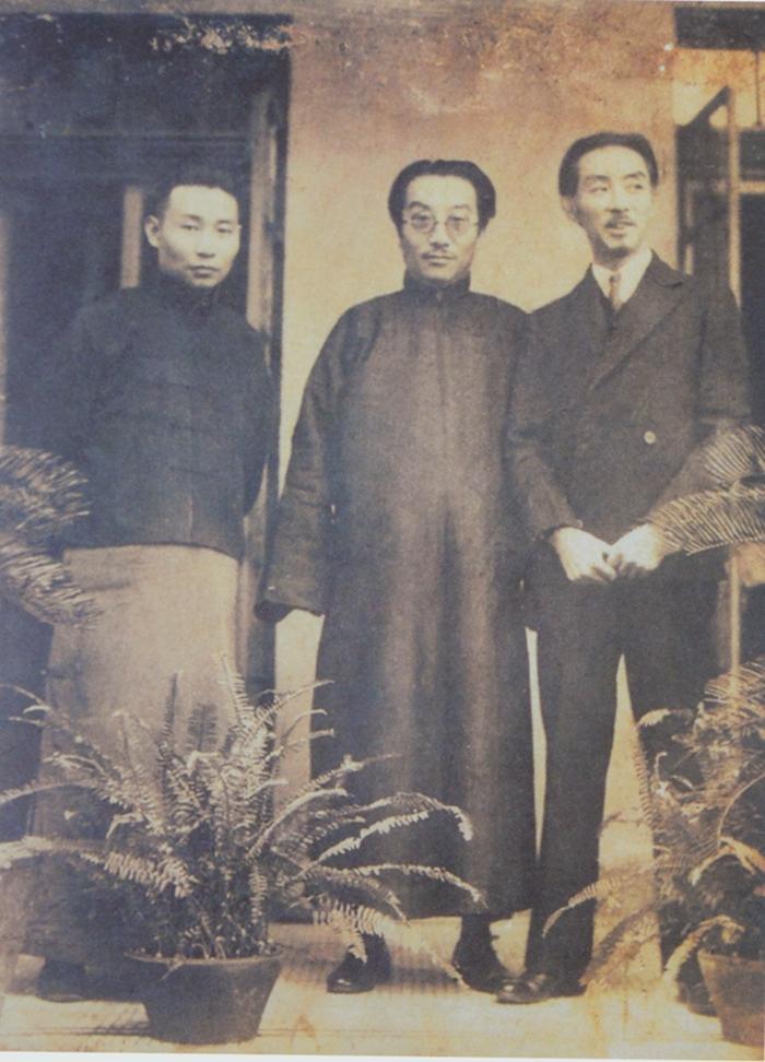 20世纪30年代,谢之光、吴湖帆、江小鹣