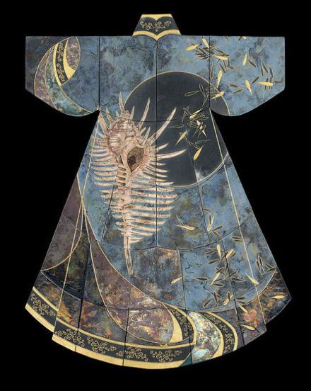 用陶瓷设计的东方复古服饰设计