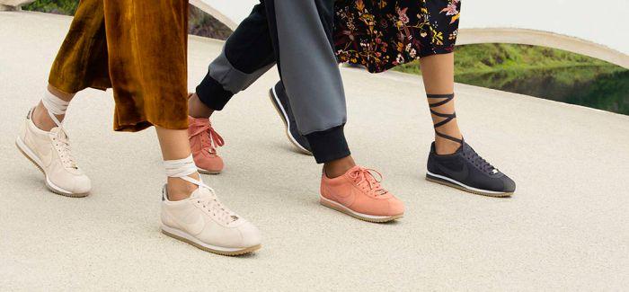 耐克新穿法!鞋带绑在腿肚上