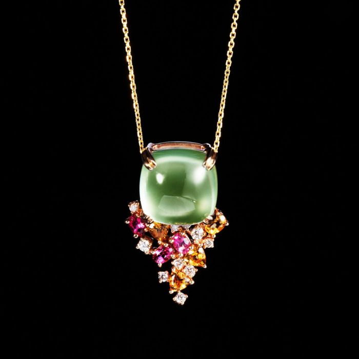 葡萄石收藏与投资的价值-珠宝快报