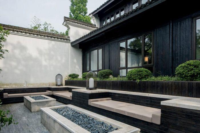 在张炜伦的设计视角中,当代的中式建筑,不应因循守旧,应当传递当代的图片