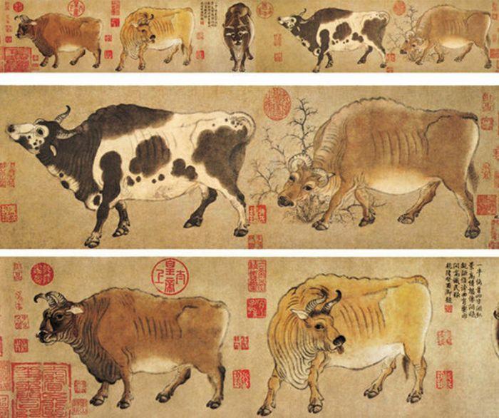 故宫博物院十大馆藏名画图片
