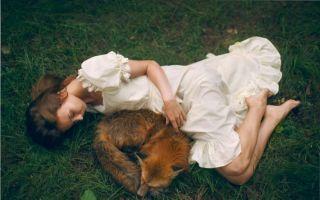 童话中的森林少女