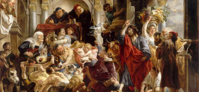 耶稣为什么要在圣殿驱逐商人
