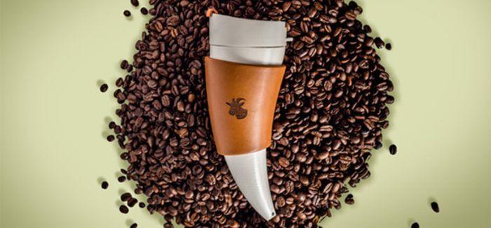 山羊加咖啡等于咖啡杯