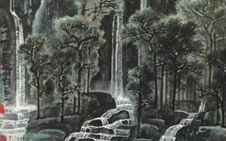 《千岩竞秀万壑争流》:李可染盛年时期代表作