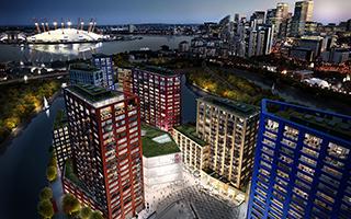 """""""城市岛"""":伦敦新的文化枢纽"""