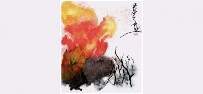 霜凝先生画作欣赏:秋韵交响曲