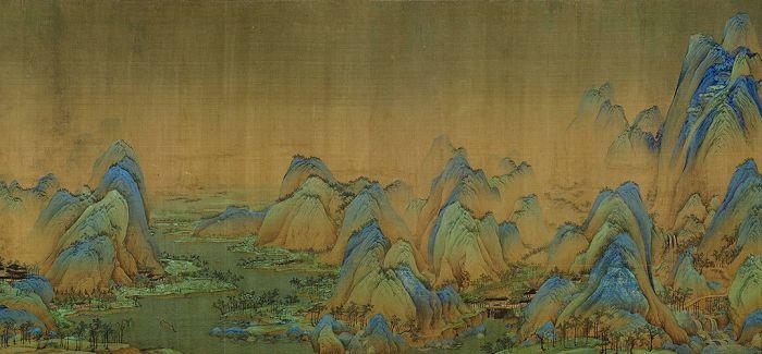故宫:《千里江山图》准备好了!