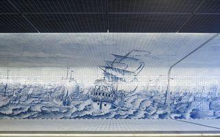 110米壁画隧道:回到过去 穿越未来