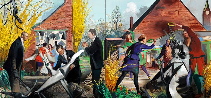 """新莱比锡画派:""""铁幕""""时代的视觉系艺术"""
