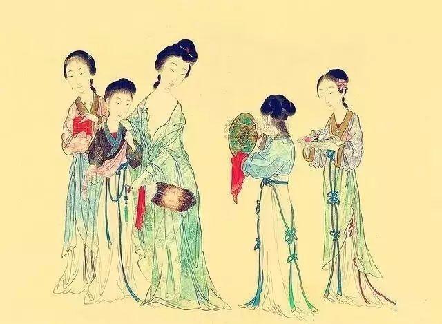 历代画家眼中的杨贵妃