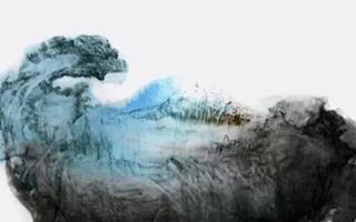 霜凝先生画作欣赏:蓝色幽梦小夜曲