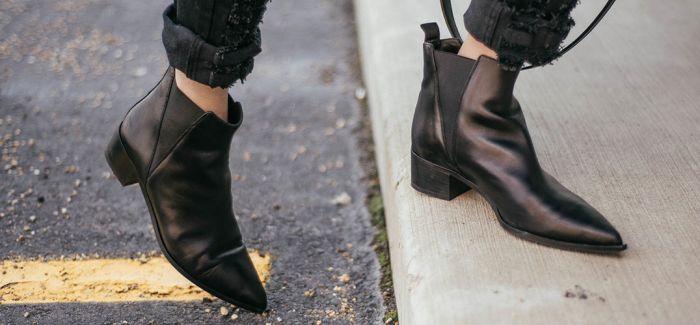 百搭单品 小黑靴