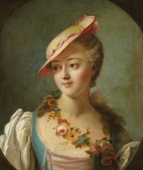 A portrait of the marquise de Pompadour by the circle of Charles-Andree Van Loo