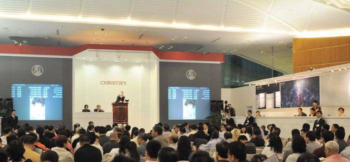 3.4亿港元 佳士得再显亚洲艺术领域的市场领导地位