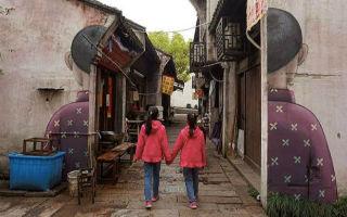手绘上海老街故事的法国艺术家
