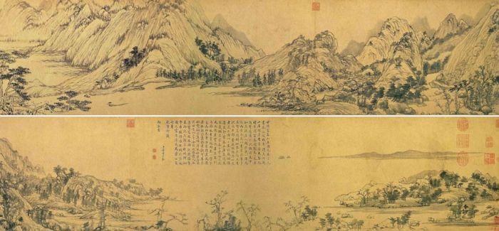 八旬翁成就传世名画《富春山居图》